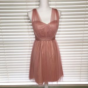 Jenny Yoo Maia Convertible Tulle Dress Size 4 B20